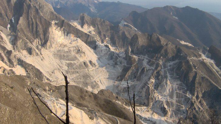 Resta irrisolto il problema dei diritti sull'estrazione del marmo dalla Cave di Carrara