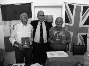 Zeri, Rossano: Brian Lett con Antonio Delucchi e Giovanni Tognarelli