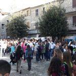 In piazza a Filattiera