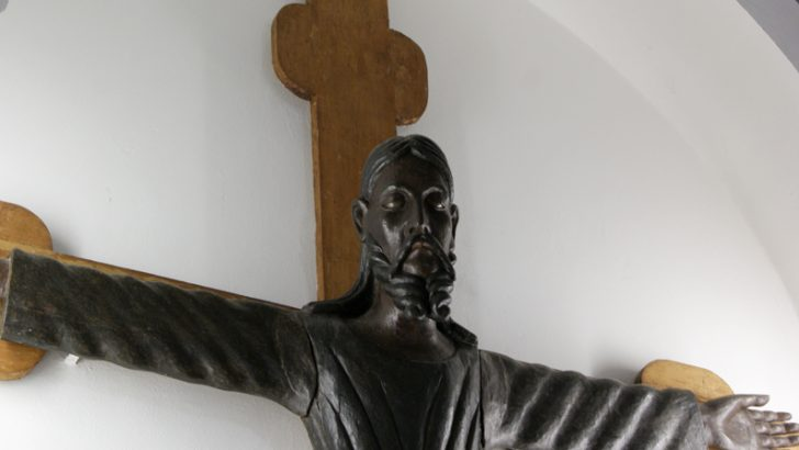 A Bocca di Magra un'antica effige del Cristo che richiama esperienze artistiche nordeuropee