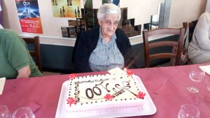 La festa per i 100 anni di Lina Bianchi Romiti