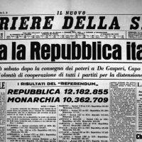 Il 2 giugno 1946 l'Italia sceglie la Repubblica
