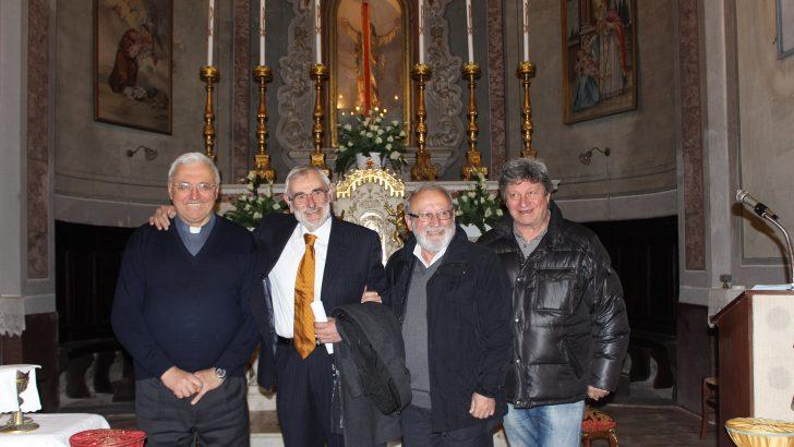 A Caprio festeggiato il dirigente scolastico Angelo Ferdani