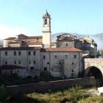 Villafranca, panorama sul ponte vecchio