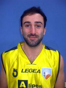 Enrico Angella, guardia della Pontremolese Basket