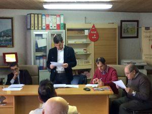 Donatori Fratres Pontremoli: relazione Mastroviti