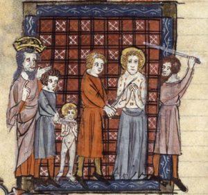Martirio di San Quirico e di Santa Giulitta