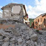 La distruzione ad Amatrice dopo il terremoto del 24 agosto scorso