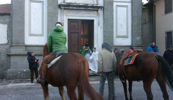 La benedizione degli animali a Montelungo