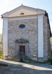 La chiesa di Argigliano a Casola in Lunigiana