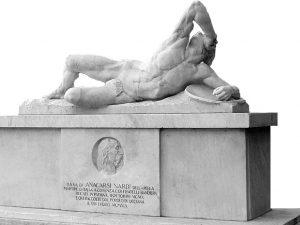 Angiolo Del Santo, monumento ad Anacarsi Nardi (Licciana)