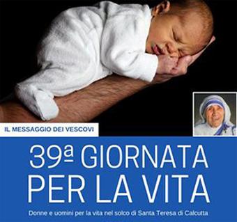 Giornata per la Vita: una tutela che è speranza di pace