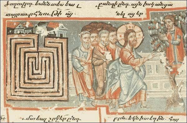 Il labirinto: da luogo profano a simbolo cristiano