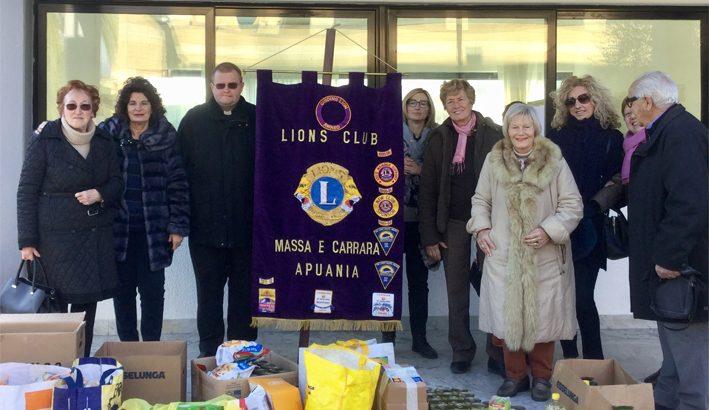 Il Lions Club  al Centro sociale Caritas