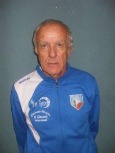 L'allenatore del Pontremoli Basket Silvano Marcucci