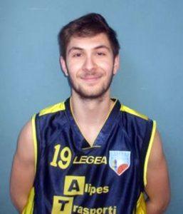 Elia Mori, playmaker della Pontremolese Basket