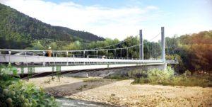 Il progetto del ponte a Castagnetoli