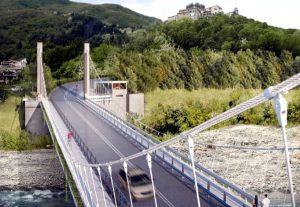 Il progetto del ponte sul Mangiola