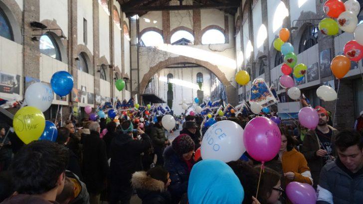 Campo invernale al Sermig di Torino
