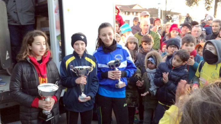 Anna Simoncelli vince la campestre di Galceti a Prat