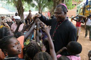 Dieudonné Nzapalainga arcivescovo di Bangui