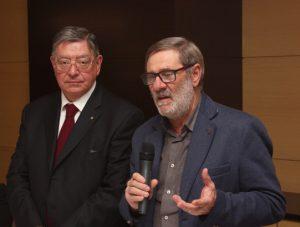 Il saluto del sindaco di Bagnone, Carletto Marconi
