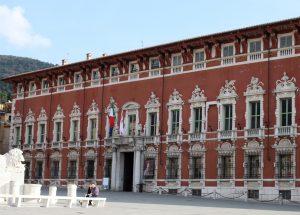 Palazzo Ducale a Massa, sede della Provincia