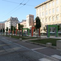 Piazza Verdi alla Spezia: ultimato il progetto Vannetti – Buren