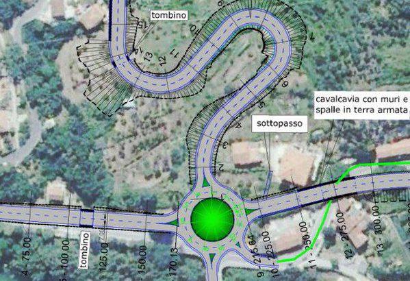 Caprigliola: il progetto della rotonda c'è ma fa ancora discutere