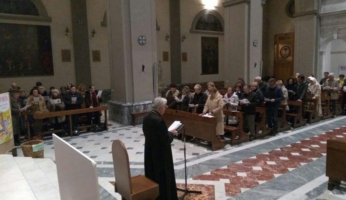 """Il Vangelo della  Trasfigurazione nella """"lectio divina"""" del Vescovo"""