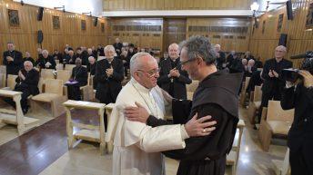 Padre Michelini, il predicatore degli esercizi spirituali della Quaresima al Papa