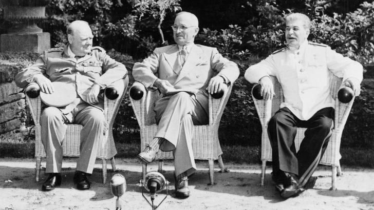 Churchill, Truman e Stalin: Tre uomini a spartirsi il mondo
