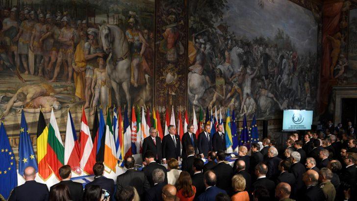 Dalla Dichiarazione di Roma una spinta al futuro dell'Europa