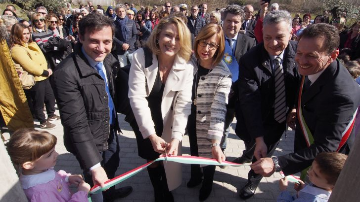 Inaugurata la nuova scuola a Terrarossa
