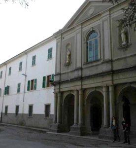 La facciata dell'Agrario