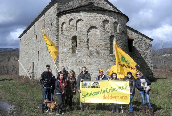 Aulla-Terrarossa iniziativa per pulire la greenway
