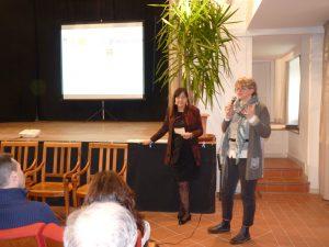 La dottoressa Della Ragione con la sindaca Lucia Baracchini