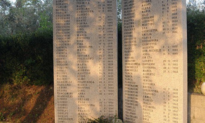 Dalla Germania un assegno per il monumento che ricorda l'eccidio di San Terenzo