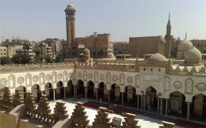 L'università di Al-Azhar al Cairo dove papa Francesco terrà una conferenza sulla pace