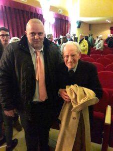 Il sindaco Bellesi con Norberto Grossi