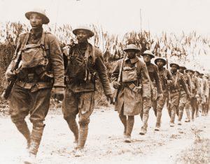 Fanteria americana a Verdun, sul fronte occidentale della Prima Guerra Mondiale