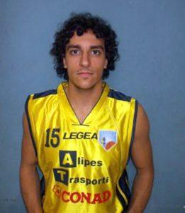 Emanuele Sordi, capitano del Pontremoli Basket è stato il top score dell'incontro contro l'Auxilium con 24 punti