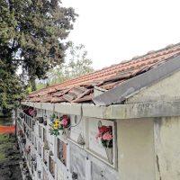 Villafranca: rubate canale e pluviali in rame al cimitero
