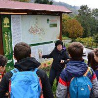 Studenti lunigianesi in visita al Parco dell'Appennino Tosco Emiliano