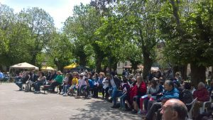 La Festa diocesana della Famiglia svoltasi nel Parco Fiera di Barbaresco domenica 14 maggio