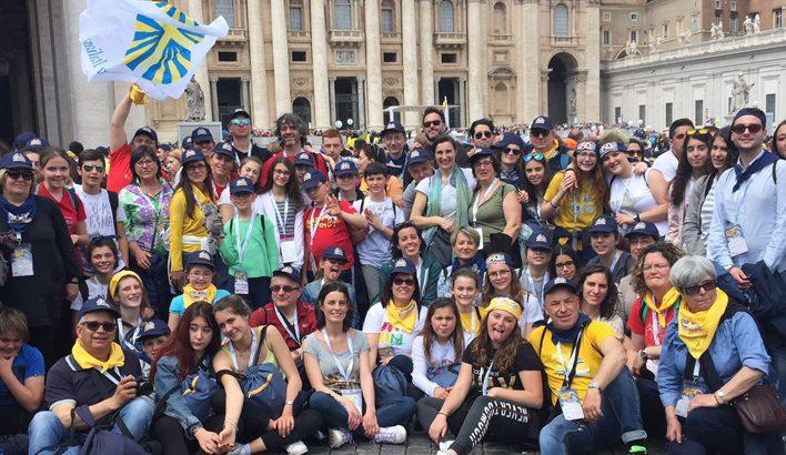 Da Pontremoli a Roma per la  festa dei 150  anni di Azione Cattolica