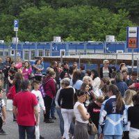 Aulla: i genitori protestano per le condizioni delle aule-container