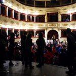Spettacolo al Teatro della Rosa delle ragazze dell'IPM nel giugno 2017 (Foto Massimo Pasquali)