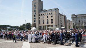 Cerimonia di beatificazione di Itala Mela