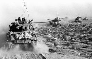 Giugno 1967: i carri armati di Israele invadono  il Sinai